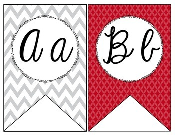 Hollywood Theme Cursive Banner