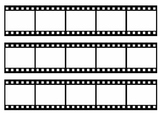 Hollywood Theme Film Strip Bulletin Board Border
