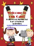 Hollywood Theme First Day of School Activities