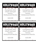 Hollywood Theme - Homework Tracker