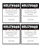 Hollywood Theme - Homework Tracker