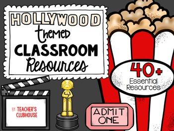 Hollywood Theme Decor Pack