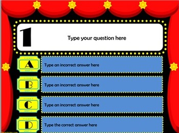 Hollywood Theme PowerPoint Test Templates