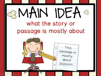 Hollywood Theme Reading Comprehension Posters