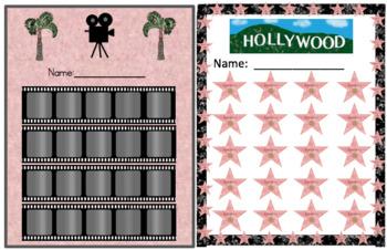 Hollywood Theme Reward Charts
