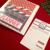 Hollywood Theme Teacher Lesson Planner