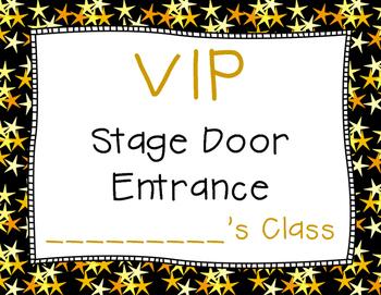 Hollywood Theme VIP Entrance