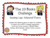 Hollywood Themed 20 Books Challenge Reading Log