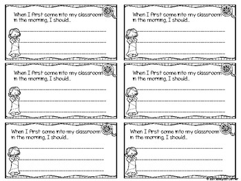 Hollywood Themed Back to School Exit Tickets for Routines and Procedures