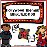 A Star is Born! Hollywood-Themed Birthday Bulletin Board Set