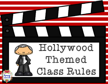 Hollywood Themed Class Rules