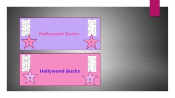 Hollywood Themed Classroom