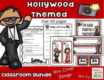 Hollywood Themed Classroom Bundle