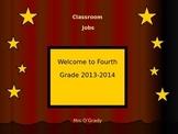 Hollywood Themed Classroom Job Powerpoint
