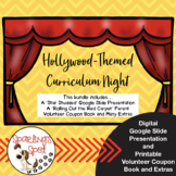 Hollywood-Themed Curriculum Night Bundle
