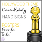 Hollywood Themed Curwen/Kodaly Hand Sign Posers