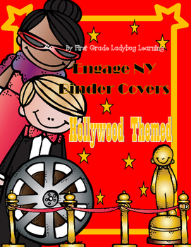Hollywood Themed Engage NY Binder Covers