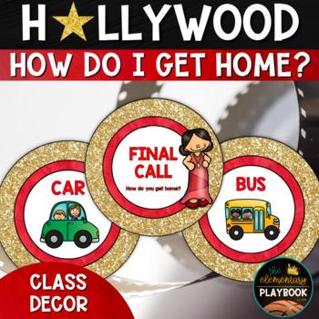 Hollywood Theme Classroom Decor: How Do I Get Home