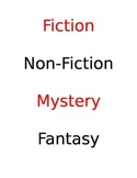 Hollywood Themed Library Labels