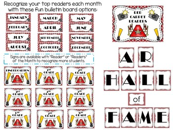 Hollywood Themed Library/Media Center Pack {with Editable Passes and Signs}