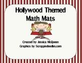 Hollywood Themed Math Mats