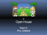 Hollywood Themed Open House Power Point Presentation