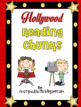 Hollywood Themed Reading Chunks