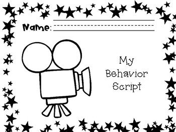 Hollywood Themed School Expectations Review- Behavior Script