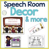 Speech Room Decor:  Hollywood Themed