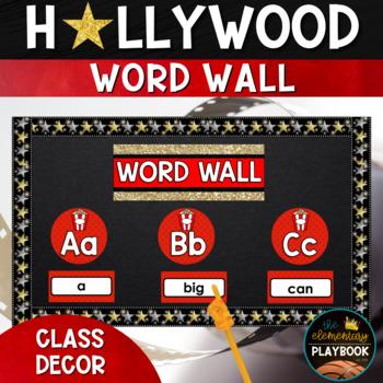 Hollywood Theme Classroom Decor: Word Wall