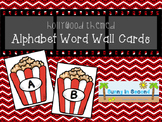 Hollywood Themed Word Wall Cards