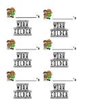 Hollywood Themed Work Folder Labels