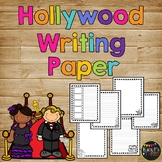 Hollywood Themed Writing Paper, End of Year Party, Celebration of Learning