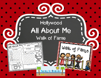 Hollywood Walk of Fame - All About Me