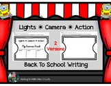 Hollywood Writing Prompt {Back to School}