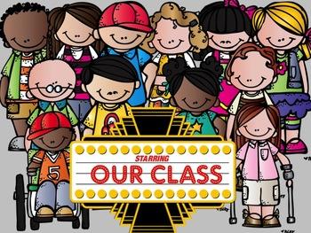 Hollywood and Movie Stars Classroom Theme