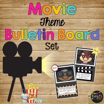 Movie Theme Bulletin Board Set Celebration Of Learning Hollywood Decor