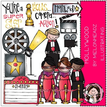 Hollywood clip art - COMBO PACK- by Melonheadz