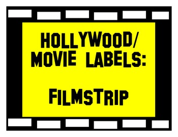 Hollywood/ movie labels
