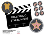 Hollywood star number