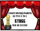 Hollywood themed music classroom signs