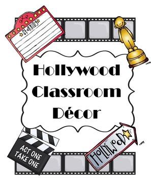HollywoodClassroomDecorBundle