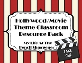 Hollywood or Movie Theme Classroom Resource Pack - Decor,