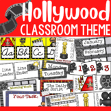 Hollywood Theme:  Classroom Decor (BUNDLE)