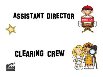 Hollywood/Movie Themed Jobs (Poster or Cards)