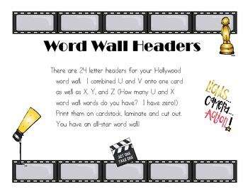 HollywoodWordWallHeaders