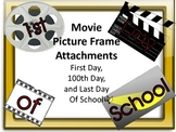 Hollywood Picture Frame Attachments First Day, 100th Day,