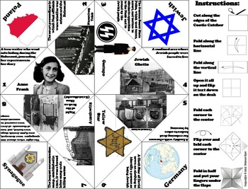 Holocaust Activity with Anne Frank (World War 2 Unit/ WWII)