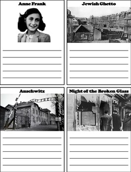 Holocaust Activity (with Anne Frank)