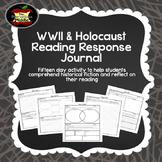 WWII and Holocaust Book Reading Response Journal
